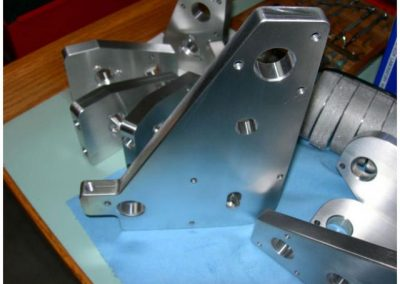 Range of 4 axis parts all machined by MPPM.