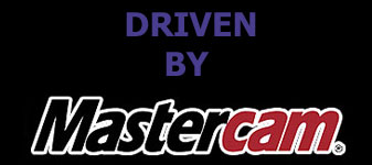 Driven by Mastercam