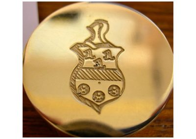 Crest Engraving.