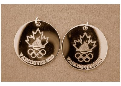 Vancouver 2010 Olympics Engravings.