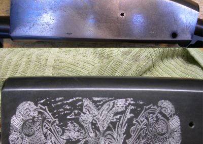 Rifle Engraving Before & After